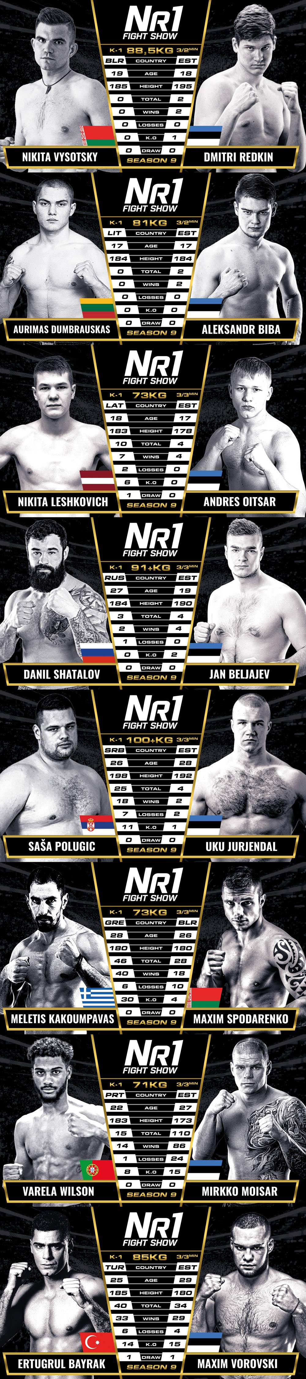 Number One Fight Show Season 9